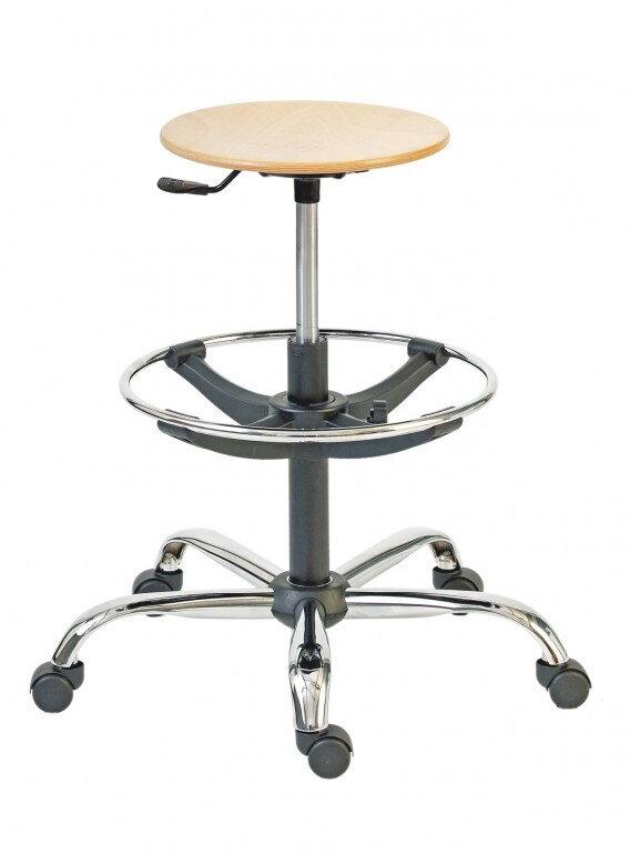 e53c8c82da73 vysoká drevená pracovná stolička do výroby