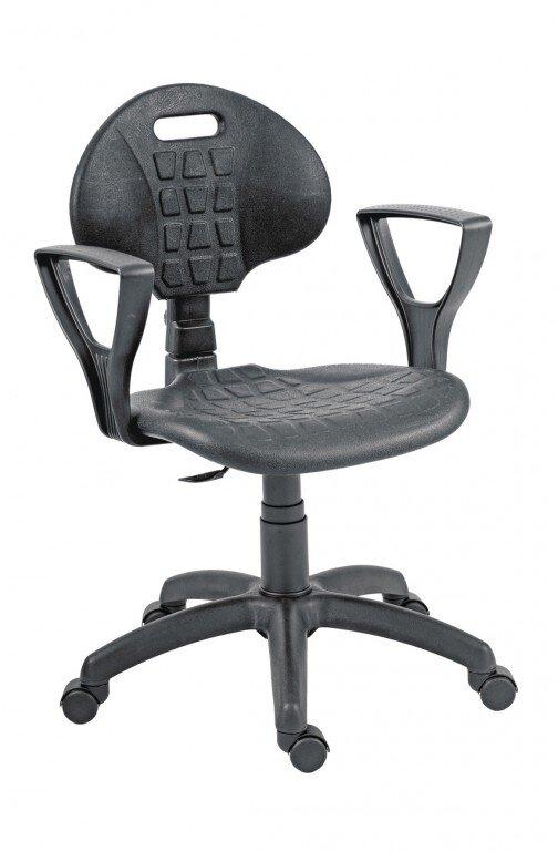 16e7f42c802d dielenská pracovná stolička s podrúčkami do výroby